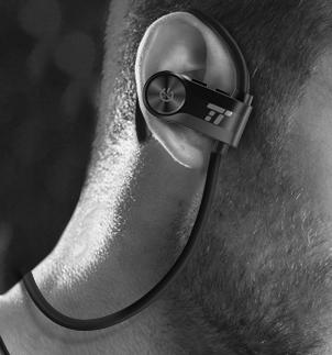 耳掛式耳機示意圖