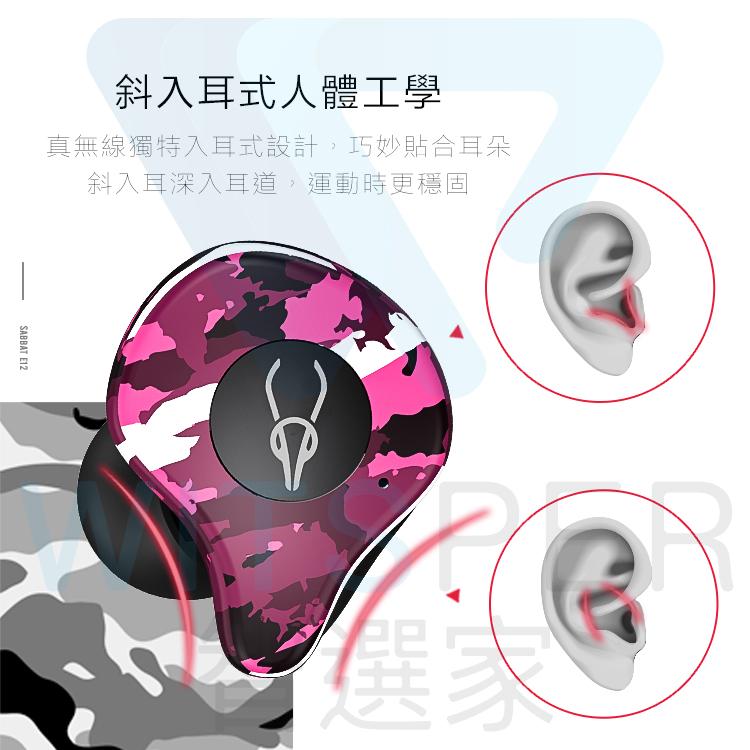 Sabbat E12真無線藍牙耳機 推薦