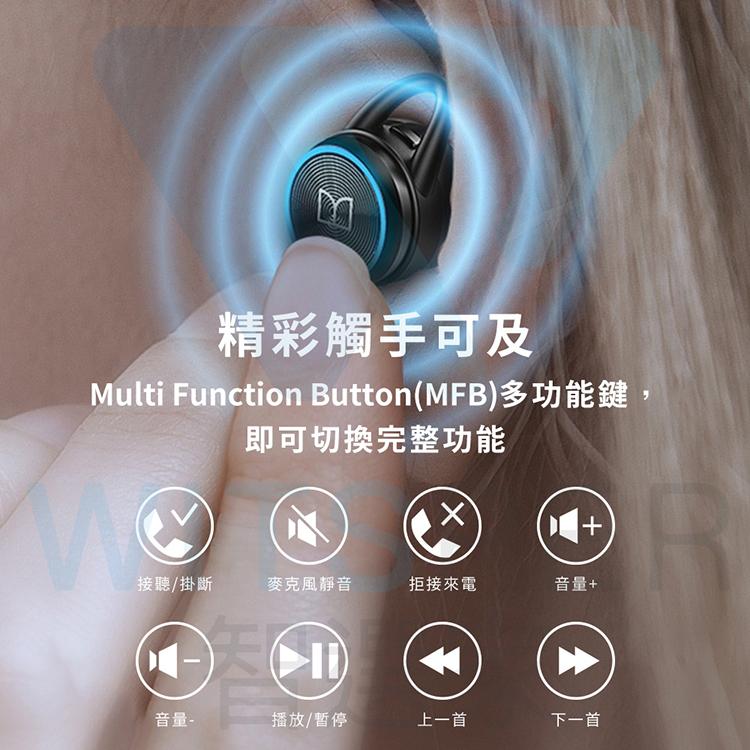 魔聲搖滾重低音真無線藍牙耳機