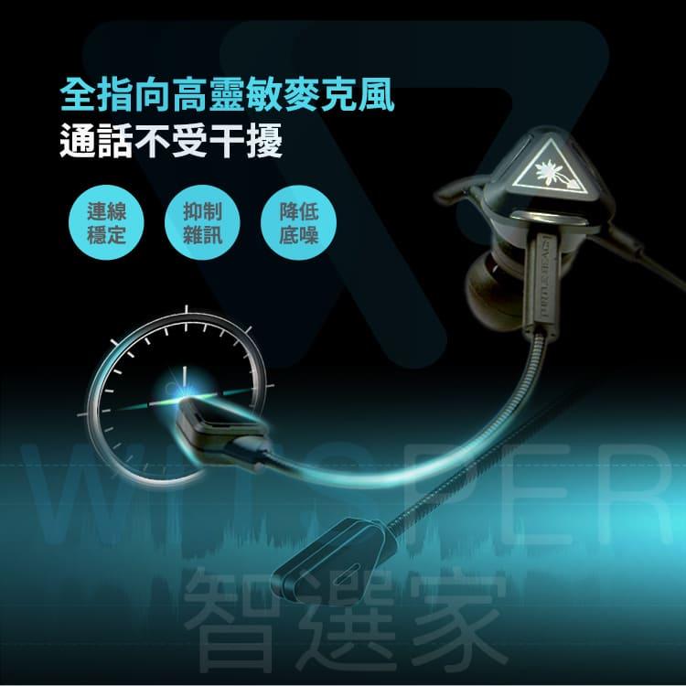 入耳式線控電競耳機