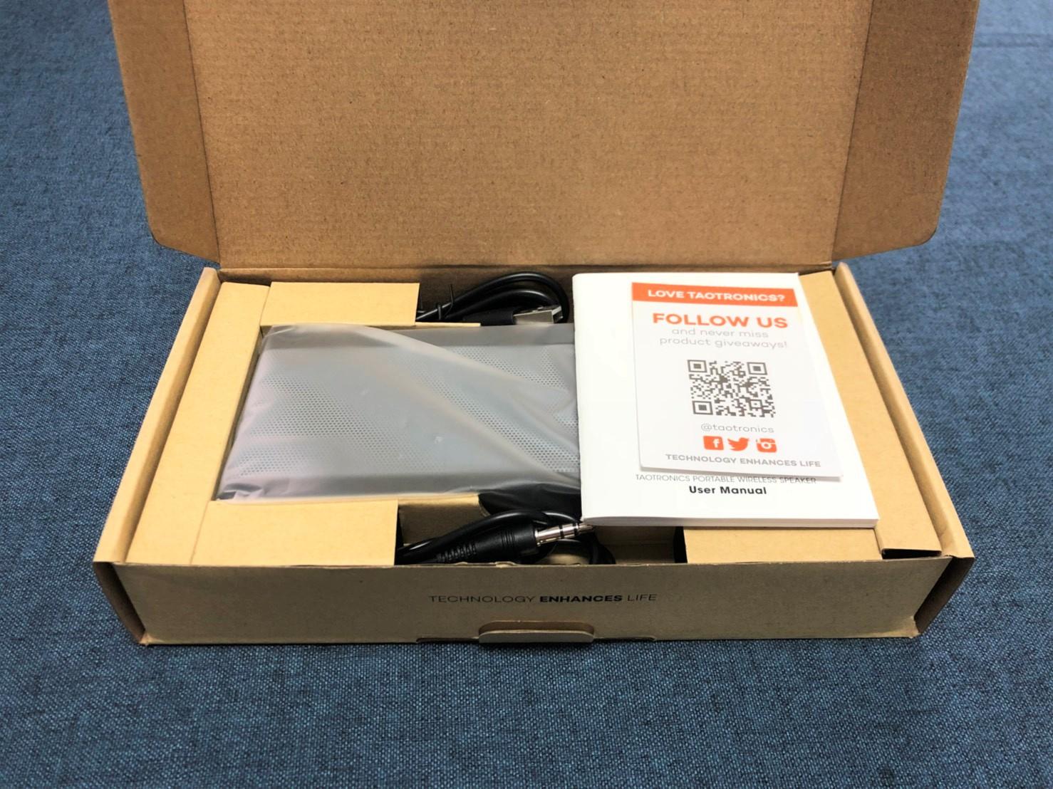 TaoTronics TT-SK09防水藍芽喇叭推薦 - 內裝